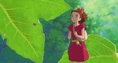 """typette: """" yknow people make fun of ghibli tears… but I think they aren't made to portray what they look like on others, but instead how they feel like to us, when WE cry. Doesn't it always feel much bigger/vision impeding when it happens to us as we. Secret World Of Arrietty, The Secret World, Ghibli Movies, My Neighbor Totoro, Hayao Miyazaki, Animation Film, Anime, Trees To Plant, Disney Characters"""