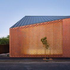 Mur en brique - Harold Street Residence - Jackson Clements