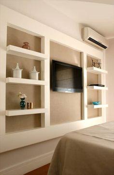 Apartamento Pinheiros: Quartos  por Nice De Cara Arquitetura