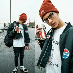 kfc date with none other than myself Kfc, Outfits For Teens, Boy Outfits, Stylish Outfits, Fotos Tumblr Boy, Pretty Much Band, Brandon Arreaga, Outfits Hombre, Grunge