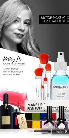 Kelley H., Social Media Writer — My top picks at Sephora.com #SephoraItLists
