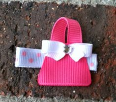 Pretty Pink Purse or Pocketbook Hair Clip Free by leilei1202, $3.25