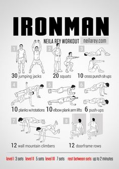 ironman workout