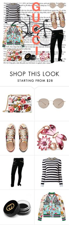 """""""Gucci"""" by lifefirstthenmusic ❤ liked on Polyvore featuring Gucci"""