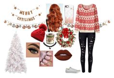 """""""~ Christmas ~"""" by iammrsclifford ❤ liked on Polyvore featuring WithChic, Converse, Bloomingville, Casetify, Improvements, Villeroy & Boch and Lime Crime"""