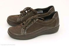 Sales Braun Leder Wide Breit Schuhe Best Extra Ara Herren
