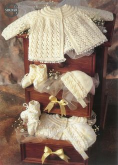 the online pattern store Baby Girl Patterns, Baby Knitting Patterns, Crochet Patterns, Baby Barn, Knit Baby Booties, Baby Christening, Crochet Baby, Knitted Baby, Baby Knits