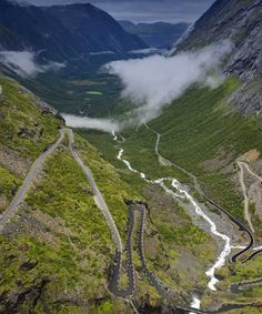 Trollstigen, Romsdal, Norway: