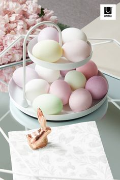 Last minute Easter décor? We got you covered! Our Poise Two Tiered Tray is a great way to hold decorative eggs - or Mini Eggs... we don't judge 😉- plus the Anigram Bunny Ring Holder is a cute centerpiece addition. Jewellery Storage, Jewelry Organization, Mirrored Picture Frames, Holiday Fun, Holiday Decor, Mini Eggs, Happy Easter, Easter Décor, Jewelry Tree