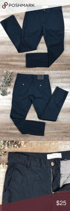 Five Four Blue Straight Legged Casual Pants Great pair of blue Five Four pants! Straight leg. Causal but can be dressed up. In excellent condition. 97% cotton, 3% spandex. Size 30. (P-16) Five Four Pants Chinos & Khakis
