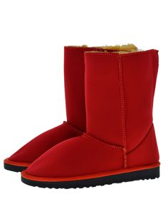 Scuba Neoprene Fabric Everest Air winter boots. Model style: Neo-Red Kim