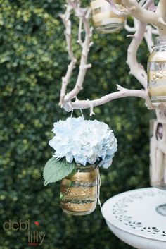 Add these charming Debi Lilly™ flower displays at your next backyard Summer bash! These mason jar vases are fun and fragrant while keeping it classy.