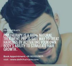 It is a natural process or treatment to treat hairloss by activating your own body's ability to stimulate hair growth. Prp For Hair Loss, Platelet Rich Plasma Therapy, Before After Hair, New Hair Growth, Hair Restoration, Hair Regrowth, Hair Transplant, Hair Loss Treatment, Massage Therapy