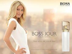 Boss Jour Pour Femme foi inspirado pela mulher HUGO BOSS que é bem sucedida, sempre elegante e ativa desde o raiar do dia.   Boss Jour Pour Femme é uma fragrância sofisticada e inspirada na primeira luz do dia. É um momento de encorajar a mulher para abraçar oportunidades e criar suas próprias histórias, todos os dias.