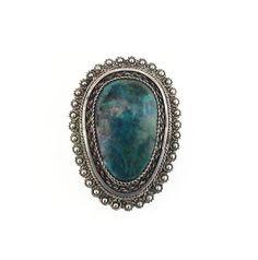Israel Sterling Silver Eilat Stone Brooch Pendant - Green Blue Stone, Israel Jewelry, Vintage Brooch, Vintage Pendant, Vintage Jewelry by zephyrvintage on Etsy