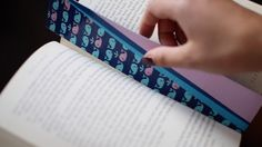 How to Make a Duck Tape Bookmark with LaurDIY