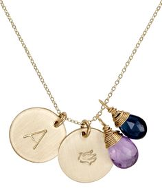 Identity Lucky Charm Necklace from Max & Chloe