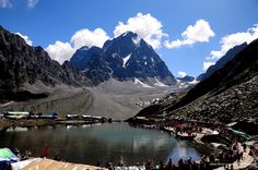 Manimahesh Lake (4080 Mtrs height) is situated in Pir Panjal range of Himalayas near Bharmour, distt. Chamba of Himachal Pradesh. A religious yatra of manimahesh starts on JanamAshtmi and ends RadhaAshtmi. People do take bath in the chilled water of dal lake. People Worship this place for Lord Shiva.