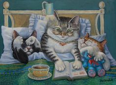 Bedtime Routine by Joy Campbell