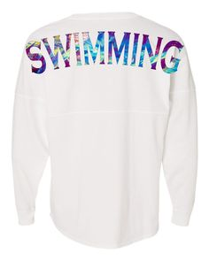"""Swimming"" LIMITED EDITION Youth Jersey 