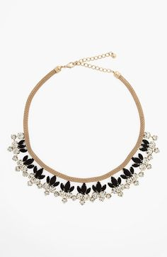 Natasha Couture Floral Statement Necklace available at #Nordstrom