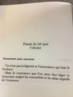 "Extrait de : ""Petite philosophie de la paix intérieure"" de Catherine Rambert"