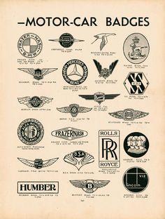 Motor Badges B