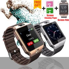 Benovel Smart Watch Wearable Devices Electronics Wrist Phone Watch Support SIM TF Card For Android smartphone Smartwatch Stylish Watches, Cool Watches, Watches For Men, Smartwatch Ios, Fitness Devices, Wearable Device, Audio Player, Android Smartphone, Smart Watch