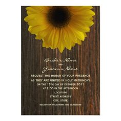 This DealsYellow Sunflower & Barnwood Fall Wedding Custom AnnouncementsWe have the best promotion for you and if you are interested in the related item or need more information reviews from the x customer who are own of them before please follow the link to see fully reviews