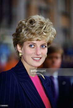 March 22, 1993: Princess Diana at the Chiswick Family Rescue renaming ceremony to Refuge at the Queen Elizabeth Conference Centre, London.
