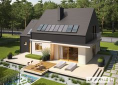 #Projekt domu #ARCHIPELAG - E5 G1 ECONOMIC (wersja B)