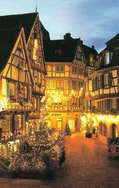 Dreamy Christmas in Colmar, France , from Iryna