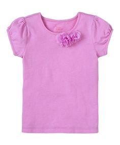 Look what I found on #zulily! Violet Pink Flower Tee - Infant & Toddler #zulilyfinds