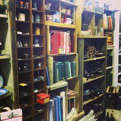 Old books at Treasures Antique Mall. #mcaffeemercantile #koletrain2