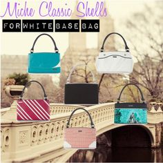 """""""Miche Classic Shells for White Base Bag"""" by harmonyhagger on Polyvore"""