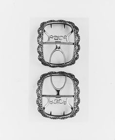 Shoe Buckle  Date: 1750–75 Geography: England; United States Culture: American or English