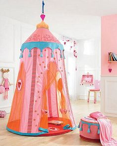 Moroccan inspired play tent.  Love.
