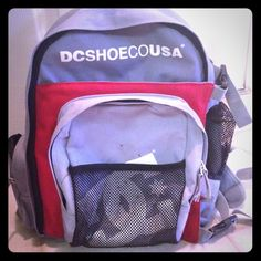 DC Wolfbred Skate Backpack Pewter