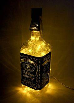 abajur de garrafa