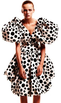 Nora Blackbird loves polka dots, but there are limits.