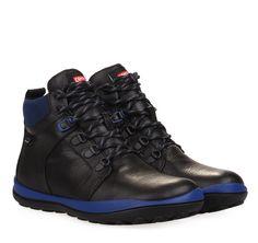 ΑΝΔΡΙΚΑ ΜΠΟΤΑΚΙΑ CAMPER (BLACK) Hiking Boots, Winter, Men, Shoes, Black, Fashion, Walking Boots, Moda, Zapatos