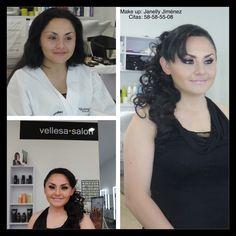 Resaltar la belleza de cada mujer a través del equipo vellesa.salon.  #vellesasalon #judithluna #janelly #luzma #makeup #hair #cortes #peinados #maquillajes