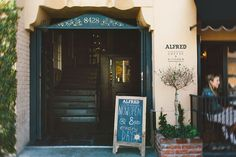 Alfred Coffee {MELROSE PLACE}