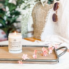 This soy candle smells like: Sugary mango and creamy coconut milk. This was also a best seller last season. Soy Candles, Coconut Milk, Mango, Products, Manga, Gadget