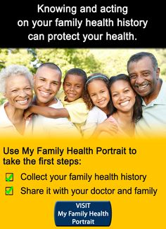 My Family Health Portrait Health Research, Take The First Step, Your Family, Public Health, Genetics, Google Drive, Family History, Health And Wellness, Basement