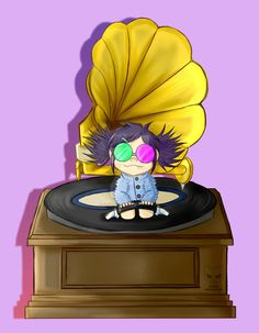 GORILLAZ- Little Noodle by Cak3Monst3r