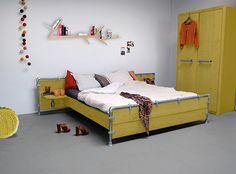 Slaapkamer geel | Interieur Inspiratie