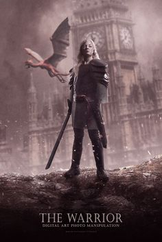 Today's tutorial I am going to show you how to create a photo manipulation of a warrior in Photoshop