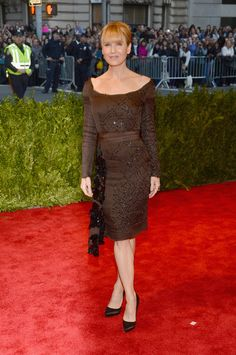 Renee Zwellger attend the Costume Institute Gala for the