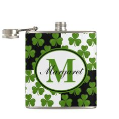 =>>Save on          Irish Shamrock Monogram Hip Flask           Irish Shamrock Monogram Hip Flask you will get best price offer lowest prices or diccount couponeHow to          Irish Shamrock Monogram Hip Flask please follow the link to see fully reviews...Cleck link More >>> http://www.zazzle.com/irish_shamrock_monogram_hip_flask-256294392267222357?rf=238627982471231924&zbar=1&tc=terrest